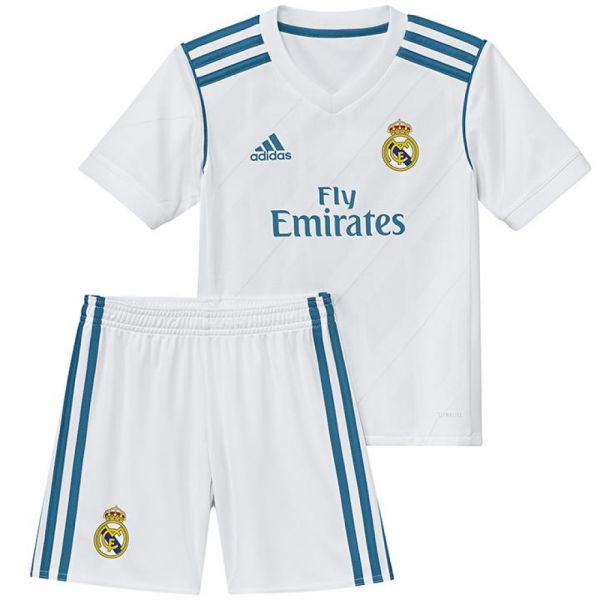 Adidas Kids Real Madrid Home Mini Kit 2017 18