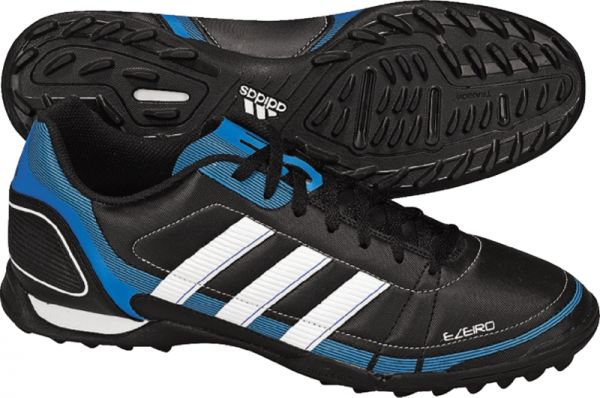 White/Royal Youth Turf Soccer Shoes