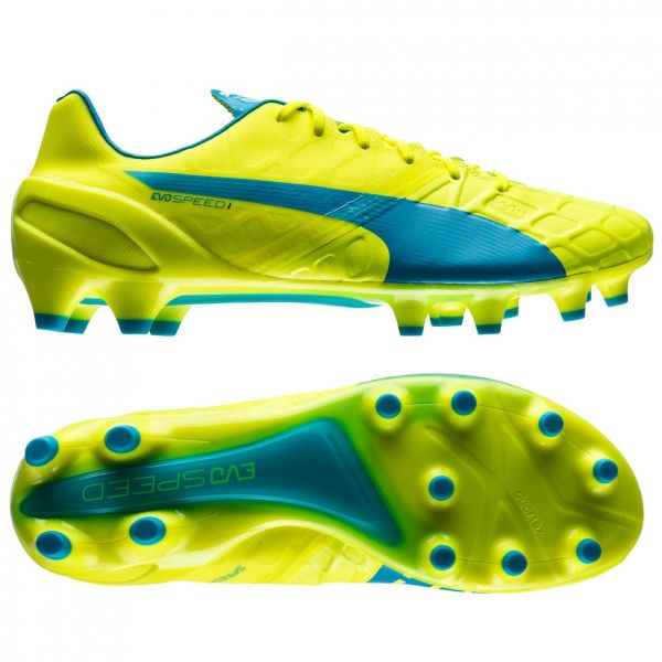 Puma Evospeed 1.4 FG Safety Yellow