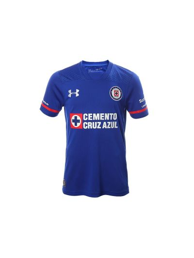 Under Armour Youth Cruz Azul Home Jersey 17/18