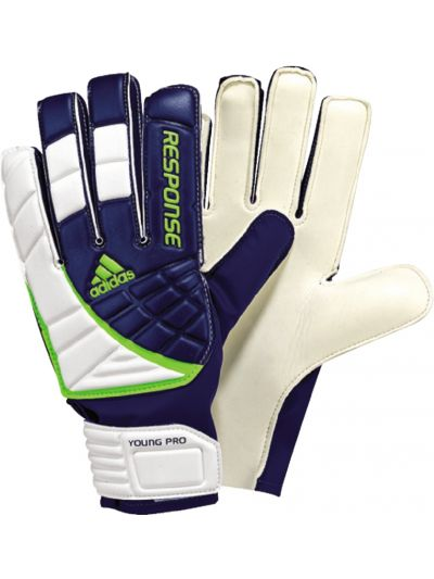adidas Resp.Young Pro Navy-White Gloves