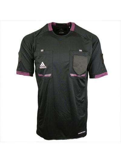 adidas Referee 12 S/S Jersey Black-Purple
