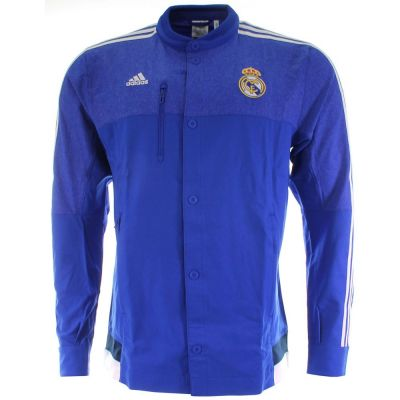 Adidas Men's Real Madrid Anthem Authentic Jacket