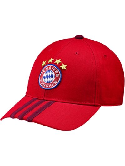 adidas Bayern Munich 3S Cap Red