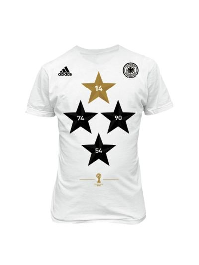 adidas Official Germany Champions Tee World Cup 2014
