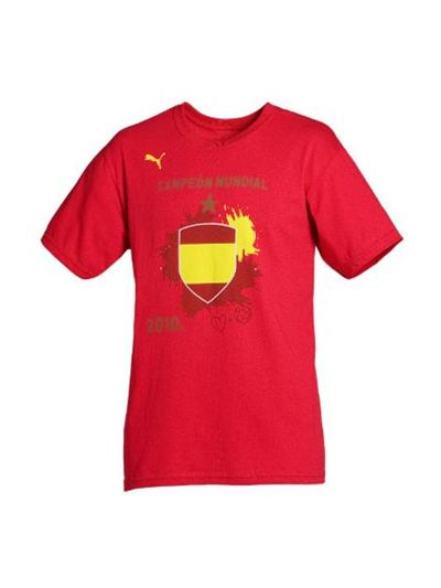 Puma Spain Winners Tee WC 2010