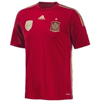 adidas Spain Home Jersey Youth 2015