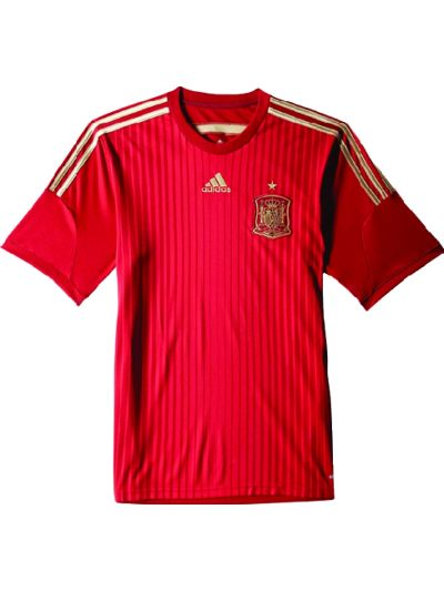 adidas Spain Home Jersey 2015
