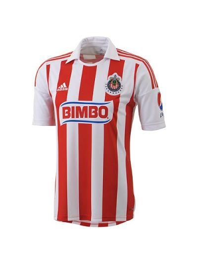 adidas Chivas Home Jersey 2012-13 Red/White