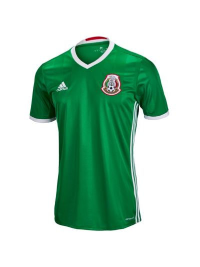 adidas Mexico Home Jersey Youth 2016
