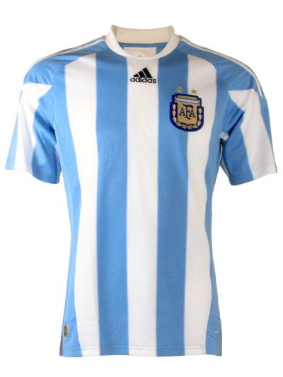 adidas Argentina Home SS Jersey 2010