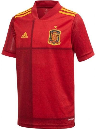 adidas Youth Spain Home Jersey
