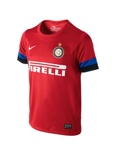 Nike Inter Boys Away Jersey 2012