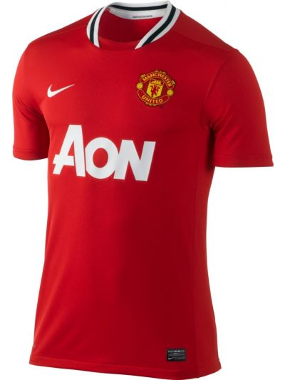 Nike Manchester Home Jersey 2011