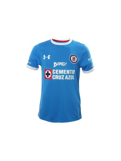 Under Armour Cruz Azul Home Youth 2016 Royal Jersey
