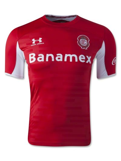 Under Armour Toluca Home Soccer Jersey  2014