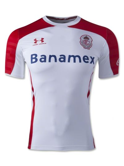 Under Armour Toluca Away Soccer Jersey  2014