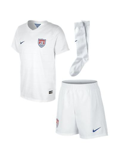 Nike USA Home Boys Kit White