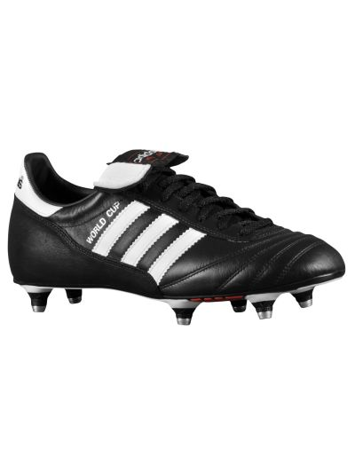 adidas World Cup Black-White SG Soft Ground Soccer Cleats