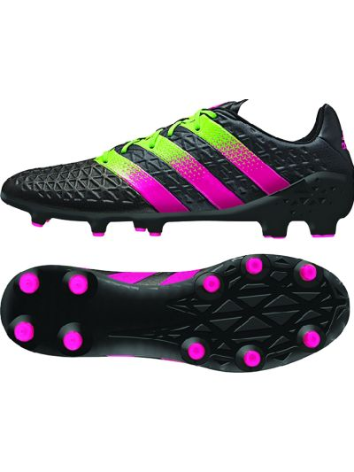 adidas Ace 16.1 FG/AG Black Shock Pink