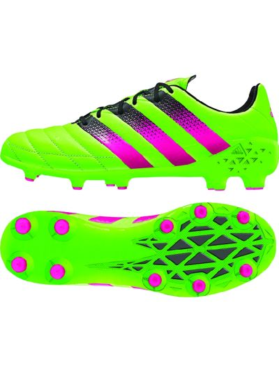 adidas Ace 16.1 FG/AG Leather Solar Green