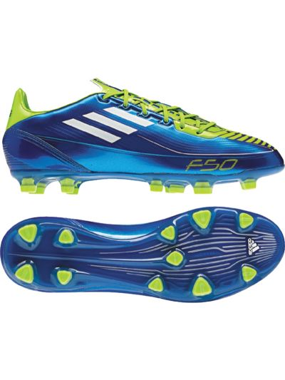 adidas F30 TRX FG Royal-Lime