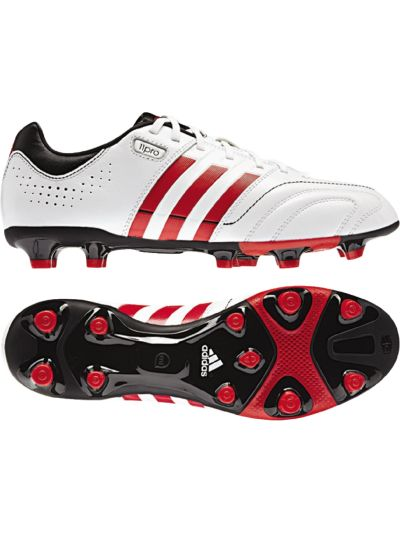 adidas 11 Core Trx FG White-Red