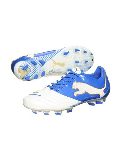 Puma PowerCat 1.12 FG White-Royal