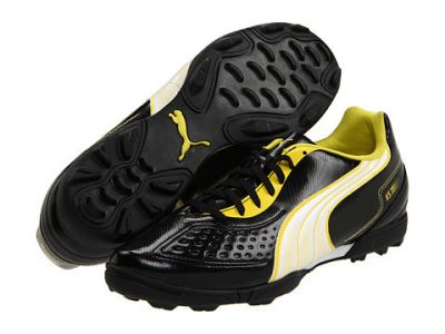 Puma v5.11 TT Black-White-Yellow