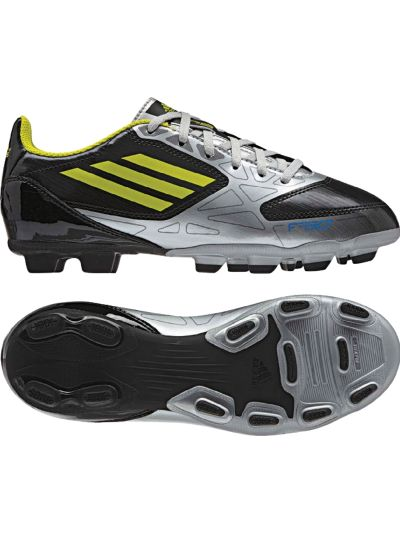 adidas F5 Trx FG Jr Black-Lime