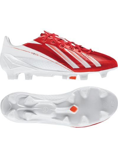 adidas Adizero F50 Trx FG JR Syn White Red