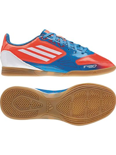 adidas F5 IN Jr Red-Blue