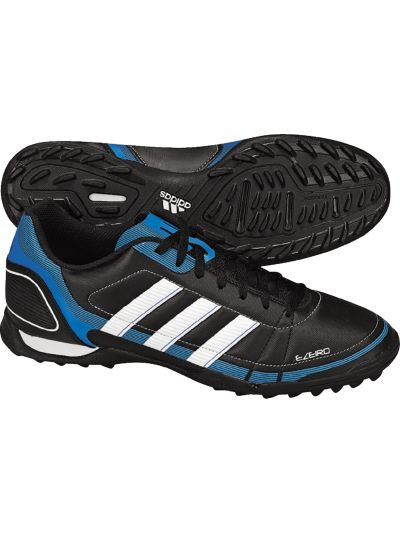 adidas Ezeiro ll TRX TF Jr Black/White/Royal Youth Turf Soccer Shoes