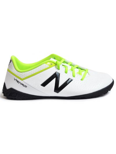 New Balance Visaro Control TF Jr White Toxic