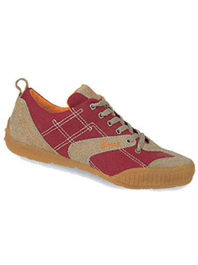 Joma Oxford-1 Casual Shoe Red-Caramel Brown