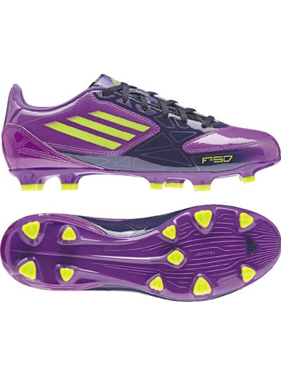 adidas F10 TRX FG Women Purple-Electricity