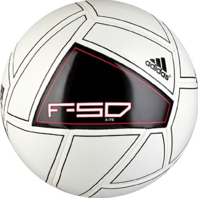 adidas F50 X-ite White-Black Ball #3 #4 #5