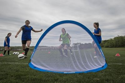 Kwikgoal Infinity® Pop-up Goal-Large Blue (Per Goal)