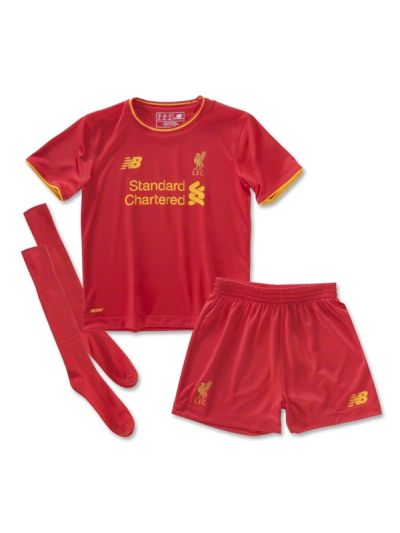 New Balance Liverpool Home Baby Kit 16/17