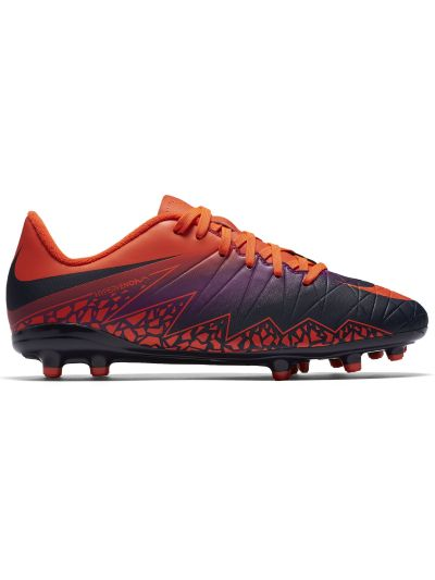 Nike Kids' Junior HyperVenom Phelon II (FG) Firm-Ground Football Boot