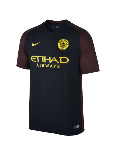 Nike Manchester City Away Jersey 2016 Black