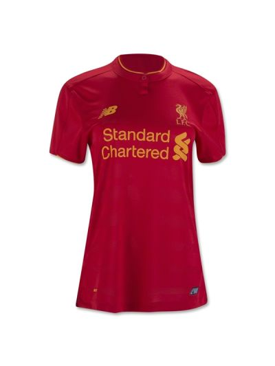 New Balance Liverpool Home Jersey Woman 16/17