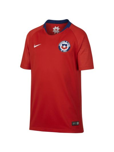 Nike Kids' Breathe Chile Stadium Home Football Jersey