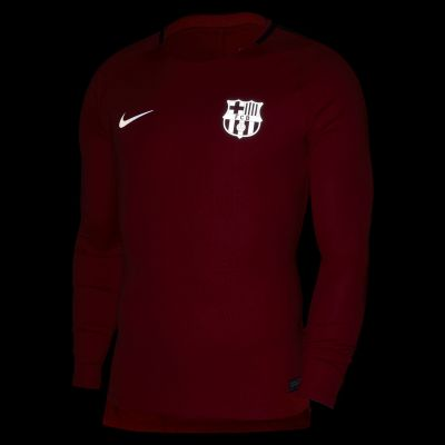 Nike Dry FC Barcelona Squad Men's Long-Sleeve Football Top