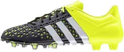 adidas ACE15.1 FG-AG Black Solar Yellow