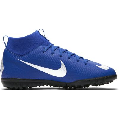 Nike Jr. SuperflyX 6 Academy TF Grade-School Kids' Artificial-Turf Football Boot
