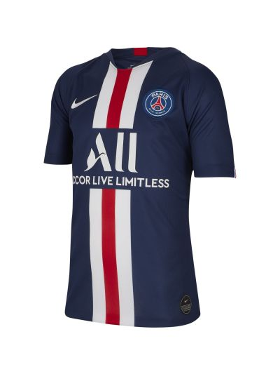 Nike Paris Saint-Germain 2019/20 Stadium Home Big Kids' Soccer Jersey