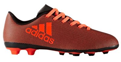 adidas Kids' X 17.4 FXG FG Firm Ground Football Boot