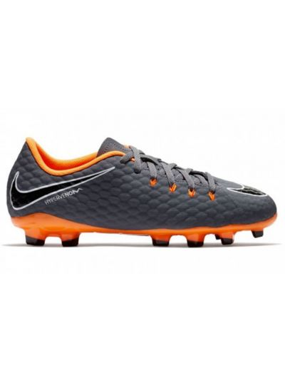 Nike Kids' Jr. Hypervenom Phantom 3 Academy (FG) Firm-Ground Football Boot