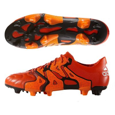 adidas X 15.1 FG AG Leather Solar Orange